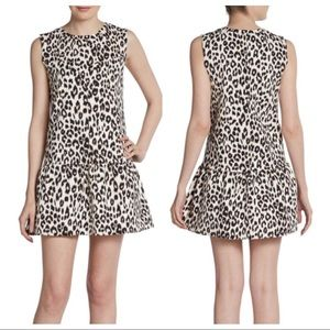 PJK Kincaid animal print cheetah leopard minidress